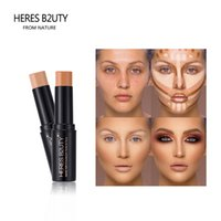 Heres B2UTY FACE Foundation Stick Aufhellen Full Cover Contour Base Primer Feuchtigkeitscreme Natürliche Make-up Concealer Stick