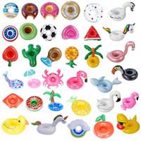 Piscine Floats Boissons Vente chaude dans la plage d'été PVC PVC Gonflable Porte-gobelet Porte-gobelet Baby Bain Toys