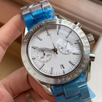 Factory Sale Quartz OS Movement Speed Master Chronograph Wat...