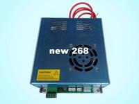 Freeshipping 40W Alimentation pour CO2 Laser Tube Graveur Graveur 110V / 220V Commutateur Haute Qualité Type III Port Blanc