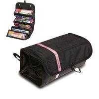 Дизайнер-Многофункциональность Большие сумки Косметические сумки для хранения туалетных сумка макияж сумки закатывает для путешествий оптом и в розницу
