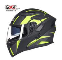 GXT Anti-Fog мотоцикл шлем мужской локомотивный езда красочные серебристые многолистные локомотивные личности неверешены шлем