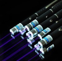 Real Store ! High Power 5mW 405nm Violet Blue Laser Pointer ...