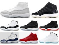 Better Quality 11s Bred Metallic Silve 72- 10 Space Jam Conco...