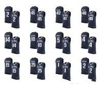 NCAA Mens Basketball Jersey Villanova Wildcats Ryan ArcidiaCono 15 Kyle Lowry 1 Josh Hart 3 Kris Jenkins 2 대학 사용자 정의 모든 이름 번호