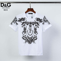2020 summer new men's T-shirt fashion short-sleeved T-shirt men's gcasual hih-quality shirt Europe and America T37