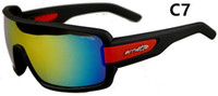 Neue Art und Weise buntes Beliebtes Wind Radfahren Spiegel Sport Outdoor Brillen Skibrillen Sonnenbrillen 2019 für Frauen-Mann-Sonnenbrille freien Schiff 7936
