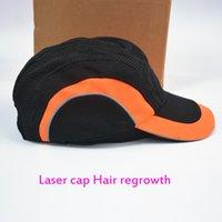 Yeni Lazer Saç Büyütme Kask 650nm Diod Lazer Saç Büyüme Anti Saç Dökülmesi Tedavi Kafası Masaj Kapağı