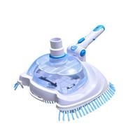Pool Vakuumkopf Flexible Durable Pool Pinsel Reinigungsgeräte Unterwasserreiniger Abwasser Zu