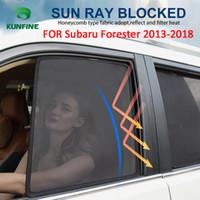 خمسة أنماط اختياري نافذة جانبية سيارة المغناطيسي ظلال شبكة الظل للمكفوفين لسوبارو فورستر 2013 2014 2015 2016 2017 2018