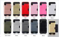 Шкафы для iPhone XR XS MAX 11 12 PRO и SAMSUNG Примечание 20 S21 S20 PLUS PLOT CREAT CARD CART CART CASE TPU PC