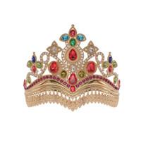 Bruid Crown Hoofdtooi 2020 Prinses Haar Ornament Europees en American Baroque Legering Diamond Super Immortal Huwelijk Sieraden Haar Hoop
