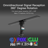 Leadzm عالية الوضوح الإشارات الرقمية التضخيم TV في الهواء الطلق هوائي 350 درجة الدورية للأشعة فوق البنفسجية المزدوج القسم 40-860MHz 20 ± 3DB ومع جهاز التحكم عن بعد
