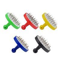 Nargile Nargile Kalay Folyo Puncher Saf Renk Folyoya Perforator Dayanıklı Kalay İğne Yeni Geliş Tasarım 2 5yha E1