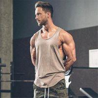 roupas ginásios Marca Homens Musculação e Ginástica Stringer alças Vest sportswear treino muscular Undershirt Singlets CX200630