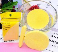 Nieuwe cosmetische bladerdeeg gecomprimeerde reinigingsspons gezichtsreiniging wassen pad verwijderen make-up huidverzorging voor gezicht make-up