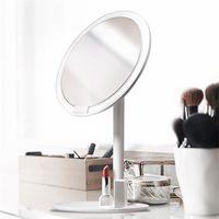 Xiaomi youpin Amiro HD trucco dello specchio specchio cosmetico Daylight Make up USB Specchi spia di ricarica luci Salute Bellezza Specchi regolabili