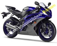 Voor Yamaha Fairing Part YZF R6 08 09 10 11 12 13 14 15 16 YZF600 Blue Gray Motor Boarwork Kit (spuitgieten)