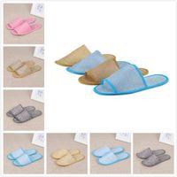 Güzel kalite yumuşak bir kerelik terlik tek kullanımlık terlik ayakkabı ev beyaz sandalet otel babouche seyahat ayakkabı