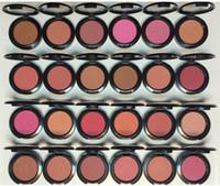 DHL LIBERA il trasporto 24 colori disponibili Single color 6g Sheertone Powder Blush No Specchi No Brush top quality