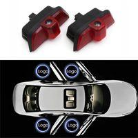 porta 2X Led Car Light Para Mercedes Benz AMG W204 C260 C300 C280 C230 C250 acolher bem-vindo Luz Sombra Laser Projector Luz