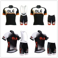 New ALE men cycling Jersey (bib)  shorts set summer breathab...