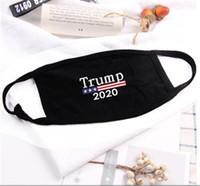 Top Vendedor Lavable Máscara Reutilizable Donald Trump 2020 Electoral Mascarilla Cara Paño Anti-Polvo Mascarilla Divertido Algodón EE.UU. Mujer Mujeres Unisex