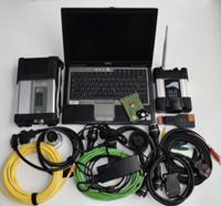 Strumento di diagnosi automatica set completo Scanner per BMW Wifi Icom Next + MB Star C5 SD connect C5 + D630 4G laptop usato + HDD da 1 TB