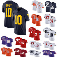 1d26c38ea8d Wholesale alabama jerseys for sale - Group buy Alabama Crimson Tide Saquon  Barkley College NCAA Jersey