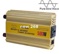Freeshipping 500 Watt Power Inverter Rein Sinus 12 V DC zu 220 V AC Converter Auto wechselrichter AC Adapter Netzteil Meind