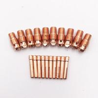 20 قطعة Tig اللحام الشعلة أجزاء Tig الاستهلاكية WP-9 WP-20 WP-25 Tig Collet الجسم والكوليت