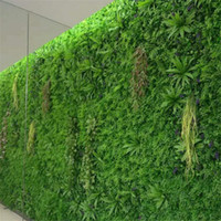 40x60cm 생생한 잔디 매트 녹색 인공 잔디 식물 벽 결혼식 장식 녹지, 잔디, 플라스틱 가짜 꽃 발코니 지붕 09