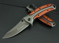 Горячие Продажа Browning DA58 складной нож 3Cr13Mov лезвия розового дерева ручки открытый охотничьи инструменты боевых ножей EDC инструменты Свободная перевозка груза
