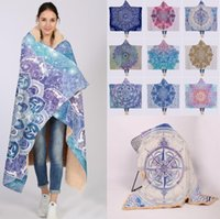 Bohemian Style Blanket Super Soft Cozy Throw Blanket In Cap ...