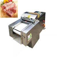 Fischschneidemaschine Huhn Ente Gans gefroren Kotelett Rippen Maschine automatische Schnell Huhn Schneidemaschine Fleisch schneiden Machin