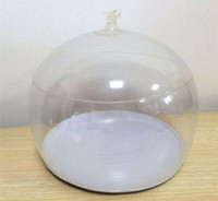 Transparent Inflatable hat display props Jewelry Packaginghe...