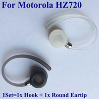 Para Motorola Elite Virar HZ720 earhooks com Rodada fones auriculares de substituição dicas botões géis e ganchos de ouvido laços frete grátis