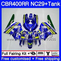 Kit for Honda NC29 CBR400 RR CBR400RR 94 95 96 97 98 268HM.2 CBR 400 RR NC23 Movistar Blue CBR 400RR 1994 1994 1999 1999 1999 1999