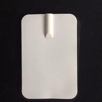 Masseur médical tampons / dizaines machine machine d'électrodes de remplacement2.4 * 3.5Inch (6 * 9cm) pour le mini stimulateur de muscle d'électrode