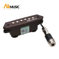 Skysonic пассивная акустическая гитара звукосниматель отверстия хамбакер A-810 чистый звук с тоном и регулятором громкости отделка натуральным деревом