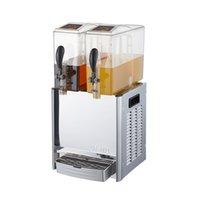 آلة المشروبات المزدوجة التجارية بارد عصارة آلة الساخنة والباردة درجة حرارة مزدوجة الشراب الباردة آلة عصير Lryj10LX2