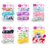 Cute Baby accessori per capelli degli archi dei capelli di nylon regalo fascia del merletto Fotografia floreale denim di compleanno per Boutique negozio