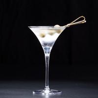 Corne Martini Coupe à boire Japonaise Triangle De Cristal En Verre Martini Coupe En Cristal Gobelet Verre À Cocktail Gobelet Drinkware