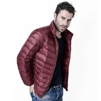 2019 Winter Men Ultralight Jacket White Duck Down Jacket Men...