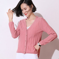 High Quality Cardigan Women Sweater Coat Spring Autumn Singl...