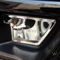 Edelstahl Innentürinnengriff bowl Abdeckungen für Mitsubishi Pajero IV V80 Montero Begrenzte Super-Exceed Shogun