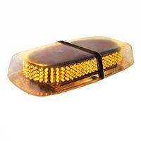 Ámbar 240 LED Ley Camión Ejecución del automóvil Peligro de emergencia Advertencia de la baliza Policía Mini LED Arado de nieve Luz de seguridad Luz estroboscópica