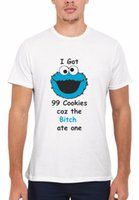 Cookie Monster Muppet Sesame Street Men Women Vest Tanker To...