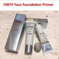 CC + 크림 프라이머 오일 무료 1087 # Face Foundation Primer 메이크업 그립 기포 기공 정련 수분자 30ml 피부이지만 더 나은