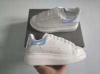 Chaussures de sport en ligne de pont de concepteur de chaussures de marque Unisexe Hommes Femmes Mode casual Designer Femmes Chaussures pour Sneaker blanc